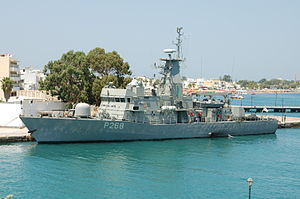 Hellenic Shipyards Co. - Gunboat HS Aittitos P-268 (Ospray HSY-56A class)