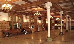 Harrisburg Transportation Center - Station interior, February 2007