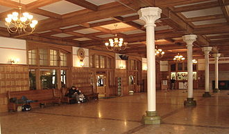 Harrisburg Transportation Center - Station interior, February 2007