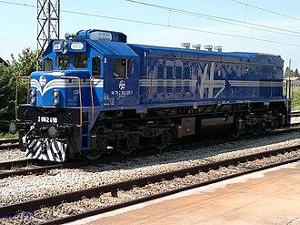 Croatian Railways - A diesel locomotive built by General Motors