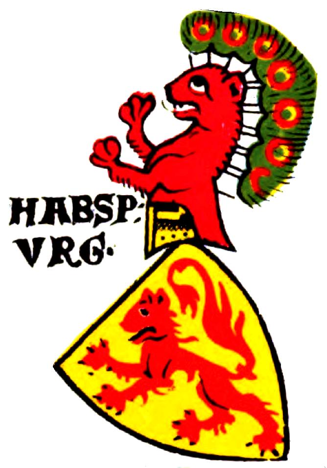 Habspurg-Wappen ZWB