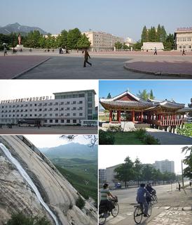 Haeju Municipal City in South Hwanghae Province, North Korea