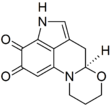 Chemical structure of haematopodin