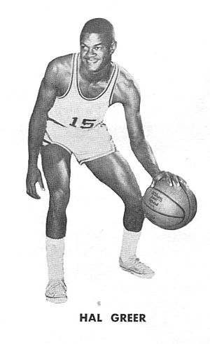 Hal Greer - Hal Greer scored 21,586 points during his 15-season career, all with the 76ers franchise.