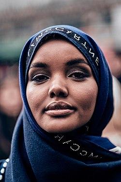 Halima Aden Paris Fashion Week Autumn Winter 2019.jpg