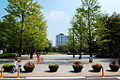 Hamacho Park by K.Suzuki in Nihonbashi-Hamacho, Tokyo.jpg