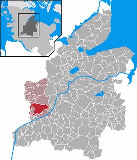Hamdorf Place in Schleswig-Holstein, Germany