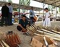 Hand-made rakes for sale. Kashgar market. 2011.jpg