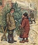 Sprzedaż choinek bożonarodzeniowych