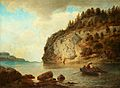 Hans Gude - På kysten (1895).jpg