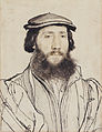 Hans Holbein the Younger - Unknown man with a beard RL 12258.jpg