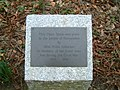 Harpenden Lydekker Park Memorial.JPG
