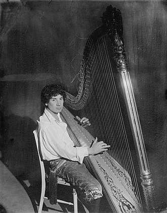 Harpo Marx - Harpo Marx playing the harp