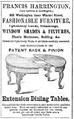 Harrington WashingtonSt BostonDirectory 1852.png