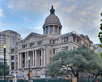 1910 Harris County Courthouse - Courthouse building in 2010