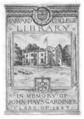 Harvard University John Hays Gardiner bookplate.png