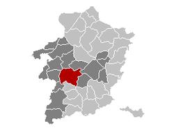 Hasselt Limburg Belgium Map.png