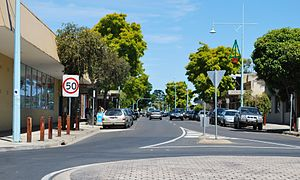 Hastings, Victoria - Main street of Hastings