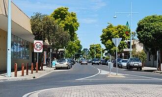 Hastings, Victoria - Main street of Hastings