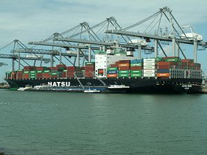 Hatsu Shine p2, at the Amazone harbour, Port of Rotterdam, Holland 17-Apr-2006.jpg