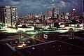 Havanna at night from Hotel Riviera 1973 PD.jpg