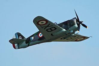 7 Squadron SAAF - Image: Hawk 75 No 82 flying