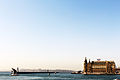 Haydarpaşa Terminal and Seraglio Point at the back, İstanbul.JPG
