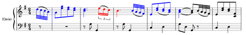 exemple partition : Haydn