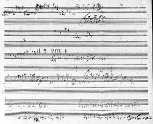 H. C. Robbins Landon - Haydn manuscript (The Seven Last Words of Christ)