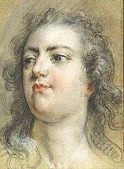 Head of King Louis XV by François Lemoyne