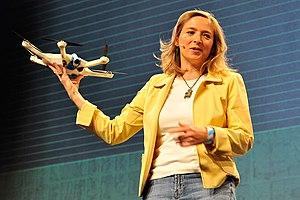 Helen Greiner - Image: Helen Greiner Tech Crunch 2015