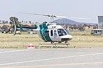 Heli Surveys (VH-BHF) Bell 206L-1 Long Ranger at Wagga Wagga Airport.jpg