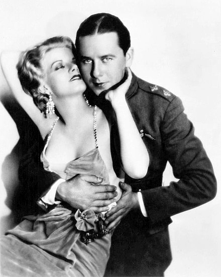 Jean Harlow and Ben Lyon in Hell's Angels (1930) Hell's-Angels-Harlow-Lyon.jpg