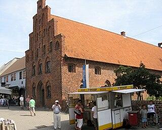 Næstved Town in Denmark