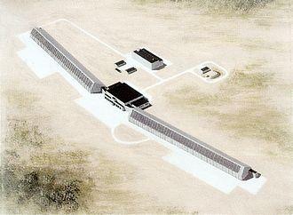 Dnestr radar - A US military artist's concept of a Dnestr-M/Dnepr.
