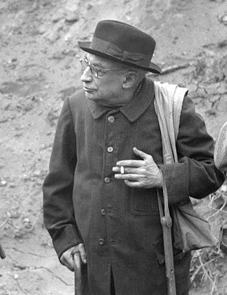 Henri Breuil - Henri Breuil in 1954