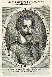 Henry II, Duke of Lorraine French noble