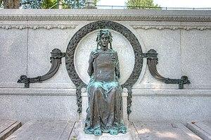 Zantzinger, Borie & Medary - Image: Henry Charles Lea monument, Laurel Hill Cemetery
