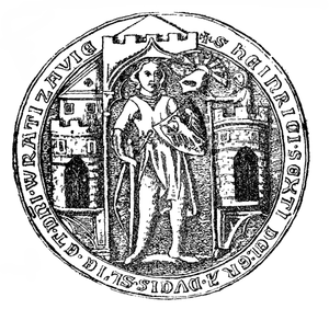 Henry VI the Good - Henry VI's seal, dated to 1332.
