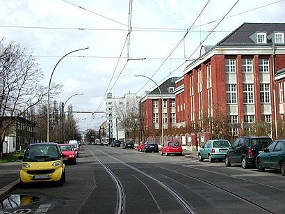 How to get to Herzbergstraße and Siegfriedstraße with public transit - About the place