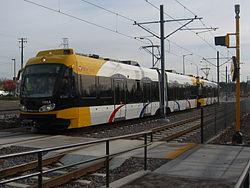 Tren ligero de Minneapolis.
