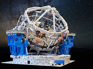 High-resolution photo of the E-ELT LEGO model.jpg