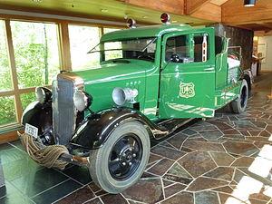 High Desert Museum - Vintage U.S. Forest Service fire truck