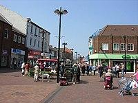 High Street (centre) in Redcar - geograph.org.uk - 797951.jpg