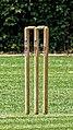 Highgate Cricket Club wicket at Crouch End, Haringey, London, England 01.jpg