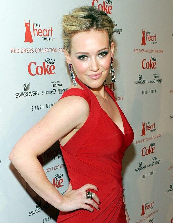 Hilary Duff Fashion Week