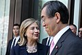 Hillary Rodham Clinton and Takeaki Matsumoto 1 20110417.jpg
