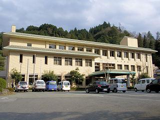 Hino, Tottori Town in Japan