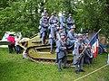 Historical reenactment festival in the Memorial park 08.jpg