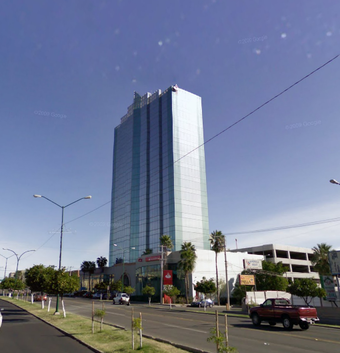 Torre Hermosillo built in 1995 at Northeast Hermosillo. Hmotwr.png